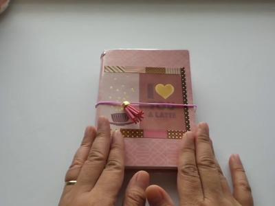 DIY Paperdori A6 Passport Travelers Notebook Cover