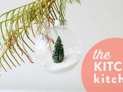 DIY Terrarium Ornaments. The Kitchy Kitchen