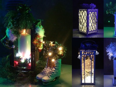DIY: Trendy Candle Lamps for Christmas and New Year