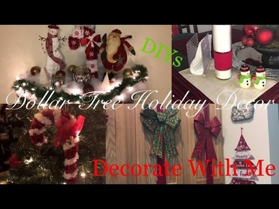 Dollar Tree Holiday Decor | Christmas Decor DIY Video