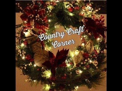 Grapevine Christmas Wreath - Christmas Voice-Over Series Episode #2