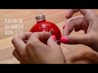 How To: DIY Christmas Baubles