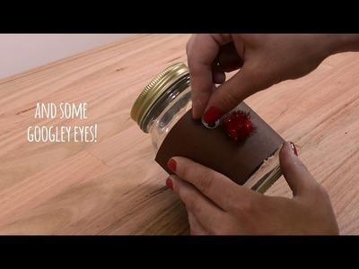 How To: DIY Christmas Mason Jars
