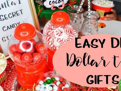 Last Minute Christmas Party Favor Candy Bar! (Dollar Tree DIY)