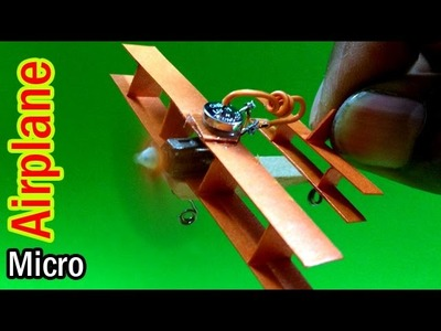World Smallest Paper Airplane That Fly by Your Homemade Materials | Creative Channel