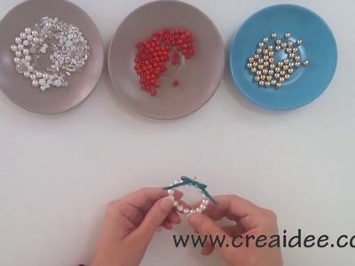 Decorazione di perline - Beads Decoration - Tutorial DIY di Creaidee