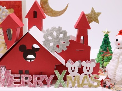 DIY Christmas House Paper Craft