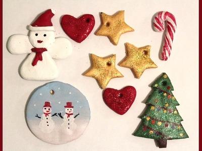 DIY CHRISTMAS ORNAMENTS | Salt dough Christmas Ornaments tutorial