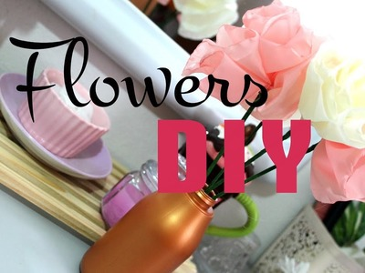 = DIY flowers EASY TO DO = Bouquet de fleurs facile à faire =