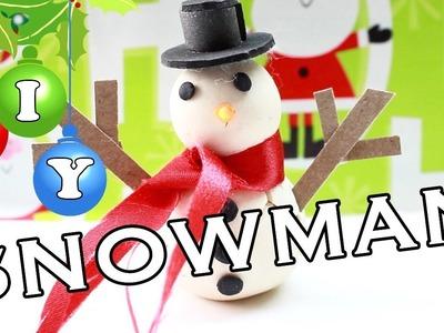 DIY - Miniature Snowman!