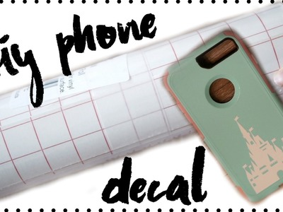 DIY PHONE DECAL WITH ANGEL CRAFT TRANSFER PAPER!