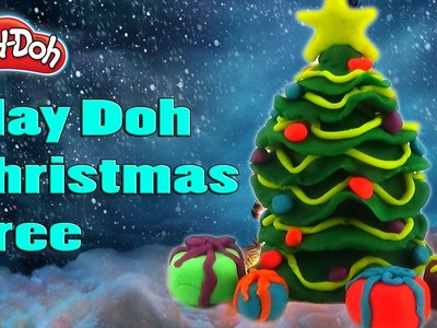 DIY Play Doh Christmas Tree - Play Doh Videos Surprise Toys - Creation