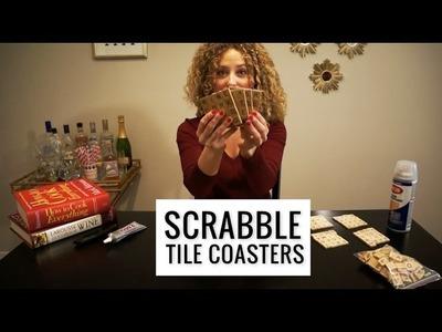 DIY Scrabble Coasters Tutorial