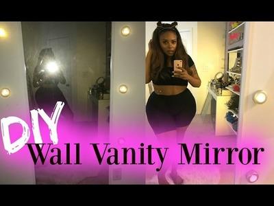 DIY Wall Vanity Mirror
