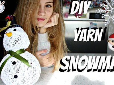 DIY YARN SNOWMAN | Anne Gaiavets | Christmas decorations