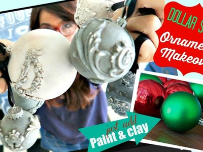 Dollar Store Challenge! DIY Paper Clay and Chalk type Paint