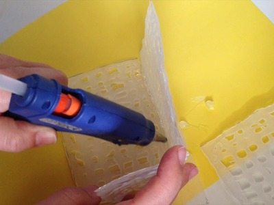 EASY DIY CRAFT-MAKE A BOX WITH HOT GLUE GUN