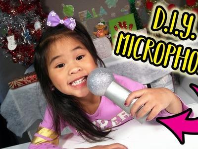 Easy DIY Microphone! | Sing Movie Craft Tutorial