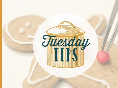 How to decorate Christmas Cookies - Tuesday Tips