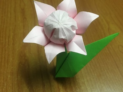 Flower how to make paper flower candle decoration candle how to make origami flower petals six diy craft tutorial mightylinksfo