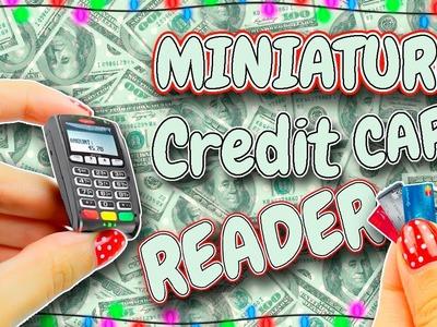 Miniature Credit Card Reader DIY   LPS   Dollhouse Tutorial   Mini Dolls