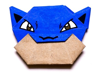 Pokemon Blastoise. Easy Origami Tutorial