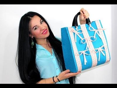 TUTORIAL DIY:How to make a bag handmade.Come fare una Borsa Fatta a Mano