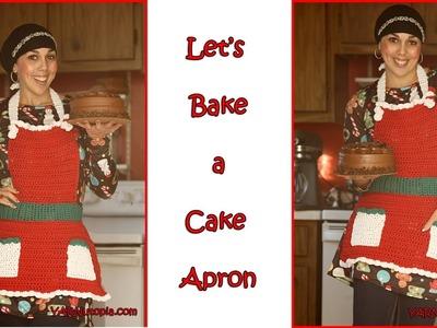 Crochet Tutorial: Let's Bake a Cake Apron