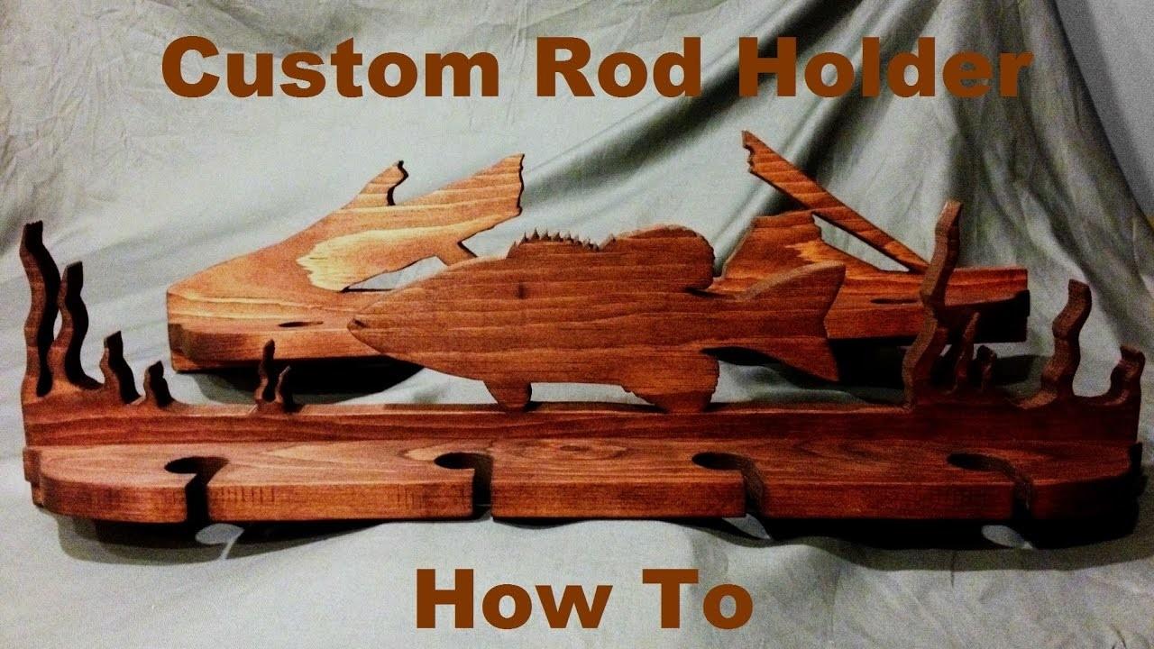 Custom Rod Holder Build | How To
