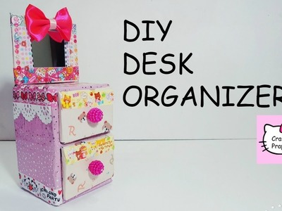 DIY Desk Organizer Cardboard