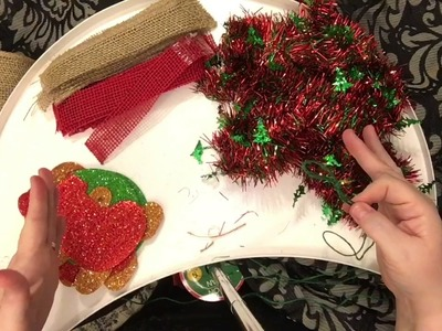 DIY Dollar Tree Garland: Christmas Edition December 2016