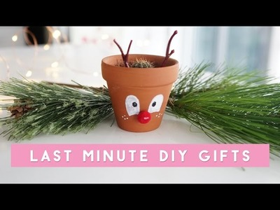 ✂ DIY Last Minute Holiday Gifts & GIVEAWAY!