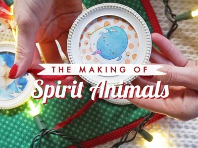 DIY VLOG | How to Make x Spirit Animal Ornaments!