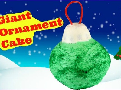Giant Ornament Cake | How to Make Giant Christmas Ornament Cake | Christmas Recipes