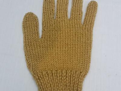Gloves Knitting with Two Needles | HINDI | Full procedure | दस्ताने बुनना सीखे आसान तरीके से