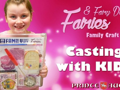 How to cast metal figures with your children using Prince August's Fairies & Fairy Door Craft Kit.