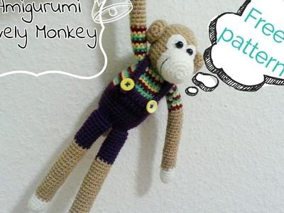 How to crochet lovely Monkey