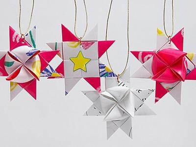 How to Fold a Scandinavian Star Ornament with Barb Owen - HowToGetCreative.com