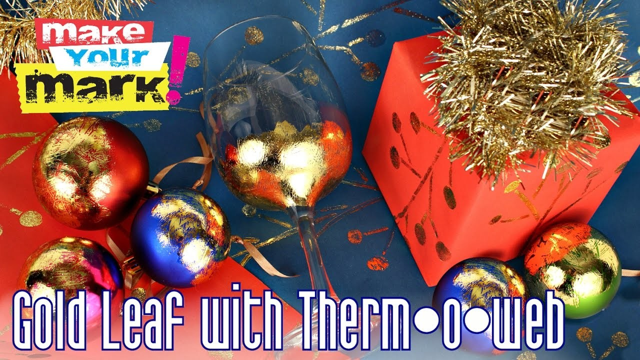 How to: Gold Leaf with Therm•o•web