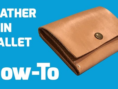 How-To: Hand Stitch a Leather Coin Wallet