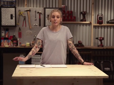 How to make a workbench with Ozito