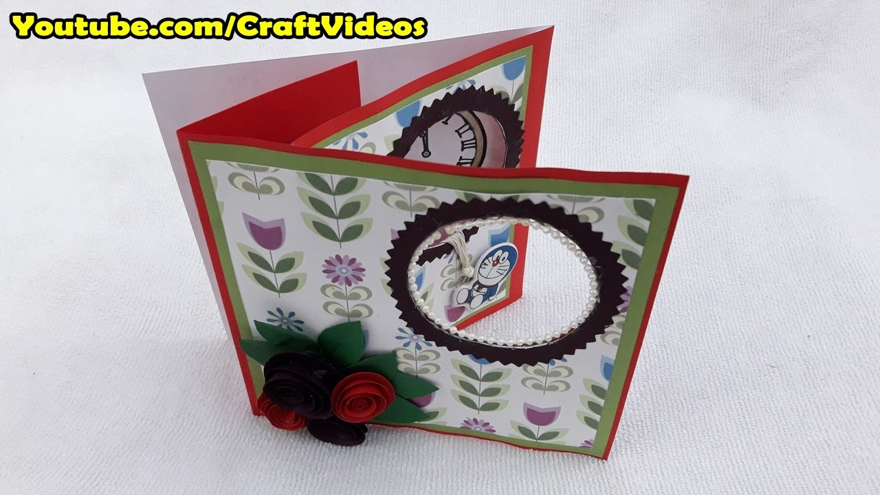 How to make changing picture card for New Year card Making | Happy New Year Card 2017