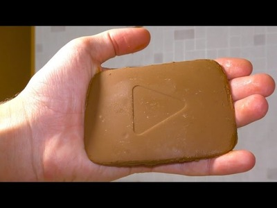 How to make CHOCOLATE YOUTUBE BUTTON