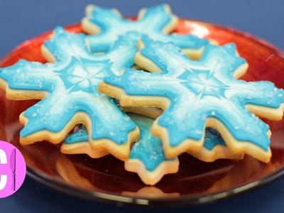 How to Make Crystal Snowflake Cookies   Cosmopolitan