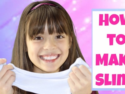 How to make Easy Slime with Two ingredients