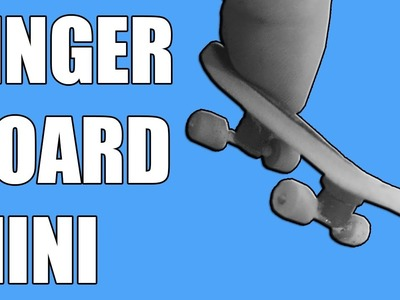 How to make FINGERBOARD - Mini board