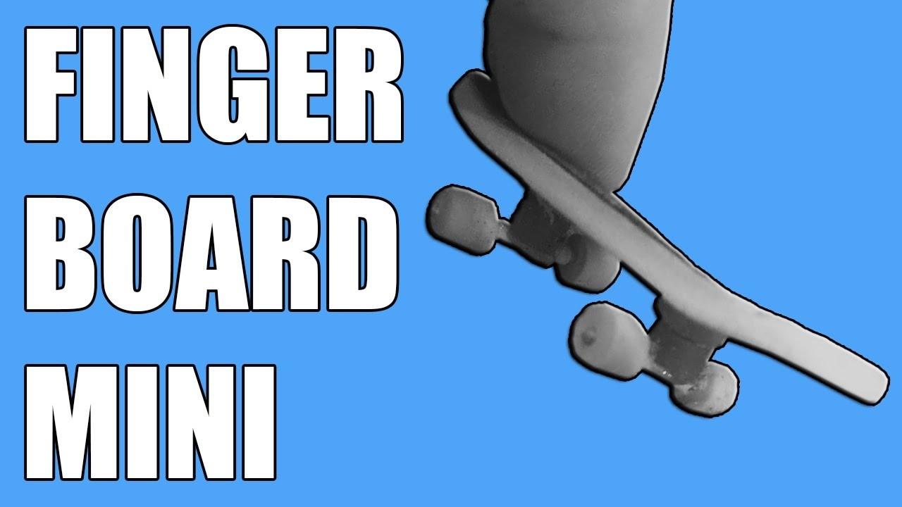 How to make FINGERBOARD - Mini board