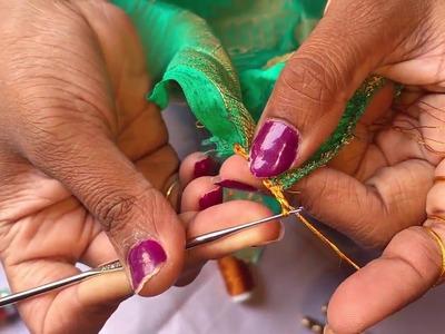 How to make Krosha. Crochet saree tassels I Detailed tutorial for beginners.