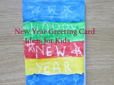 How to make New Year Cards at home | New Year Greeting card Making Ideas