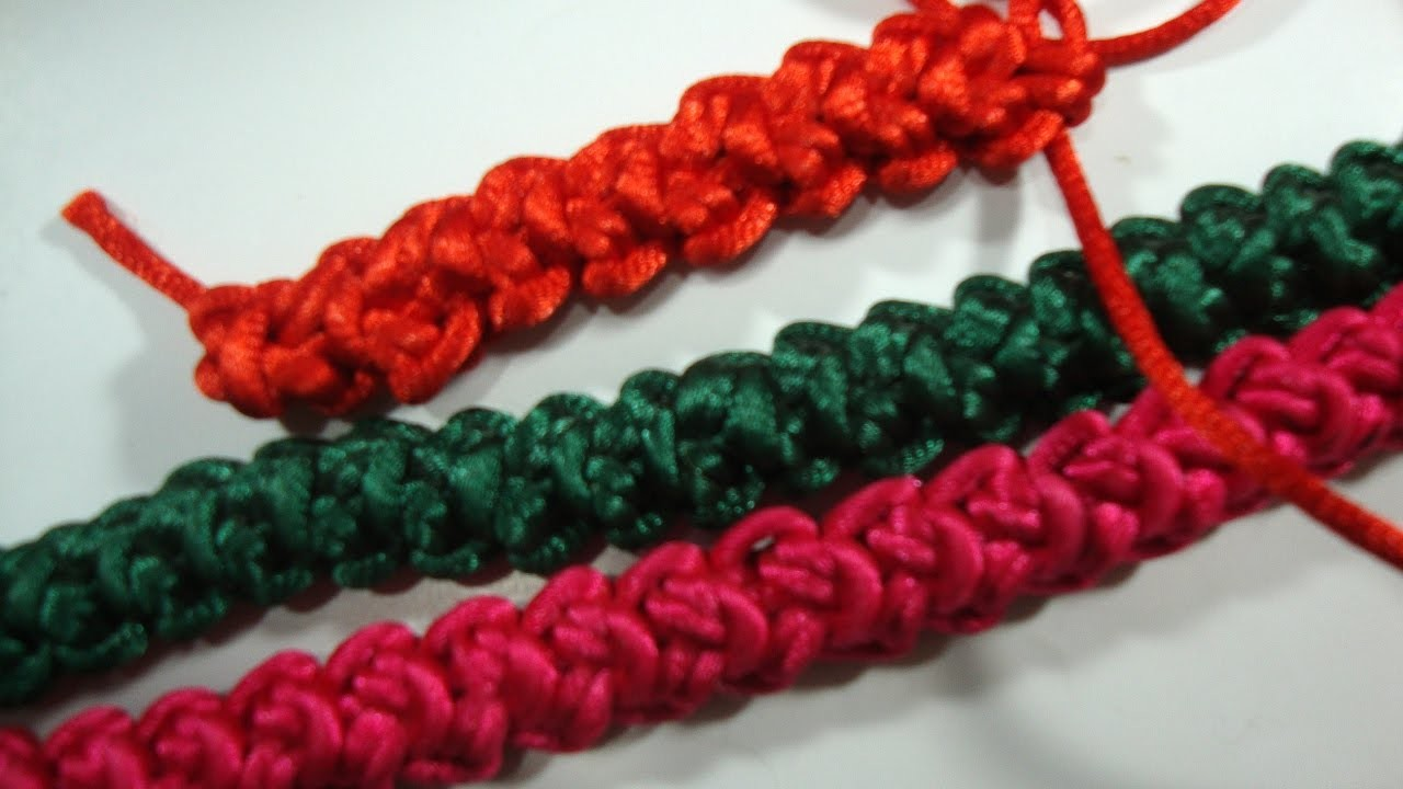 How to make Romanian 2D cord